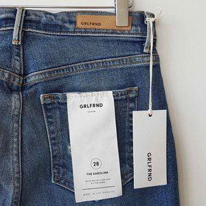 GRLFRND Karolina High-Rise Skinny Jeans Size 28 NW